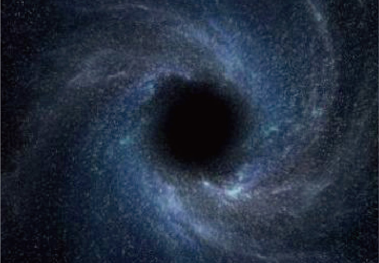 警告,有個黑洞正在靠近...