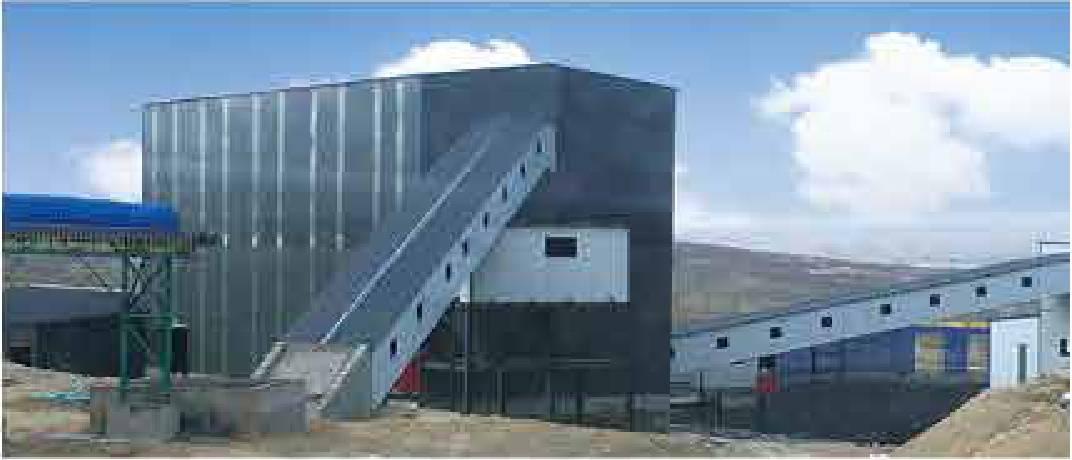 内蒙古张美厚煤矿吉通洗煤厂150万吨跳汰