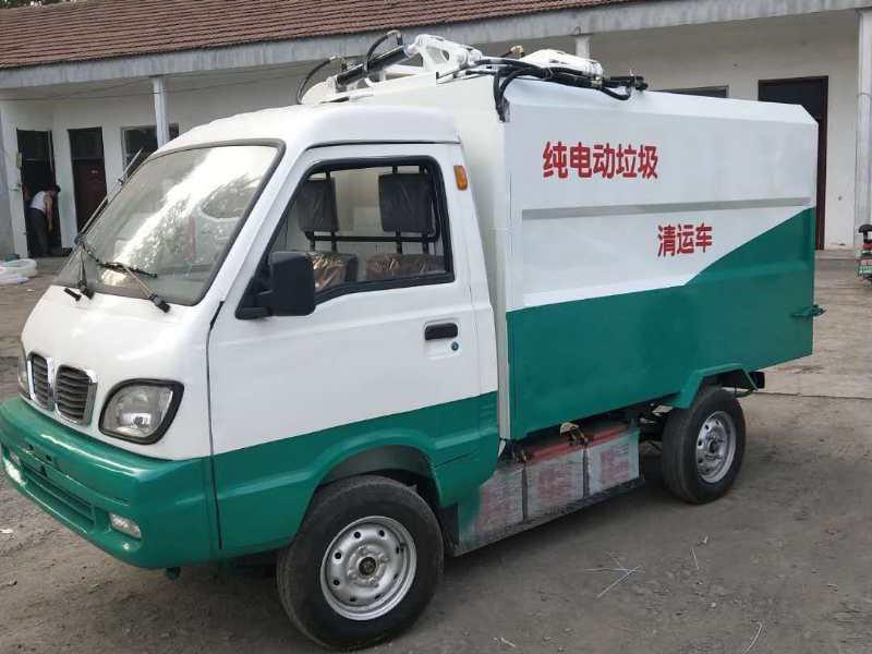 纯电动垃圾清运环卫车