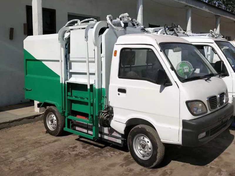 新能源纯电动垃圾清运车