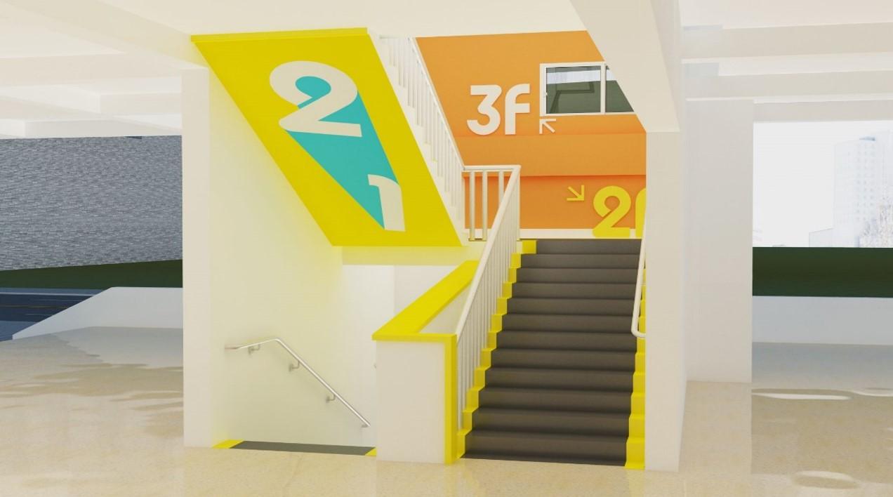 教学楼楼梯