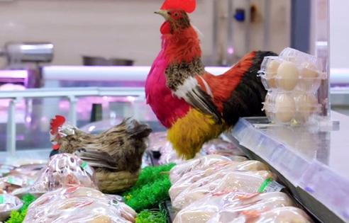 商超冷鲜鸡