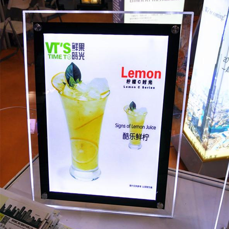 Stand-A3-Acrylic-Menu-Boards-LED-Backlit-Signs-Crystal-Menu-Lightbox