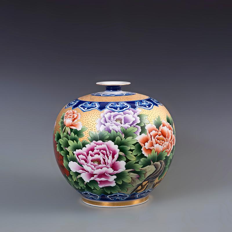 小云瓶花开富贵
