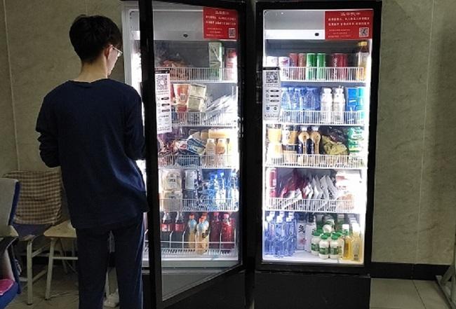学校投放自动售货机