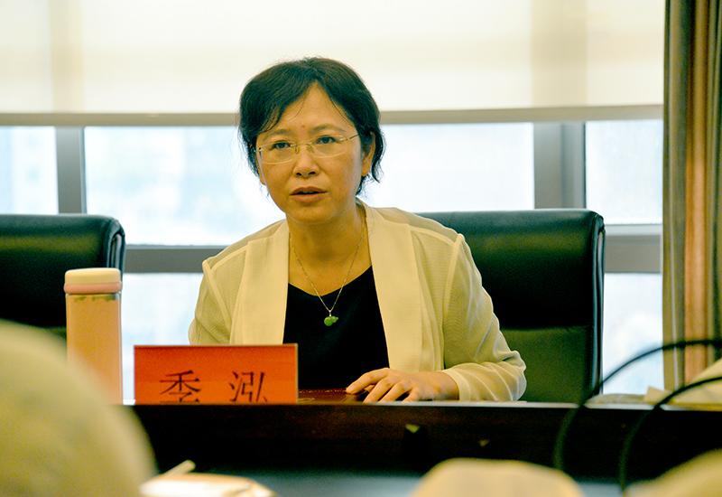 贵州省商务厅季泓厅长一行赴现代物流集团调研指导工作