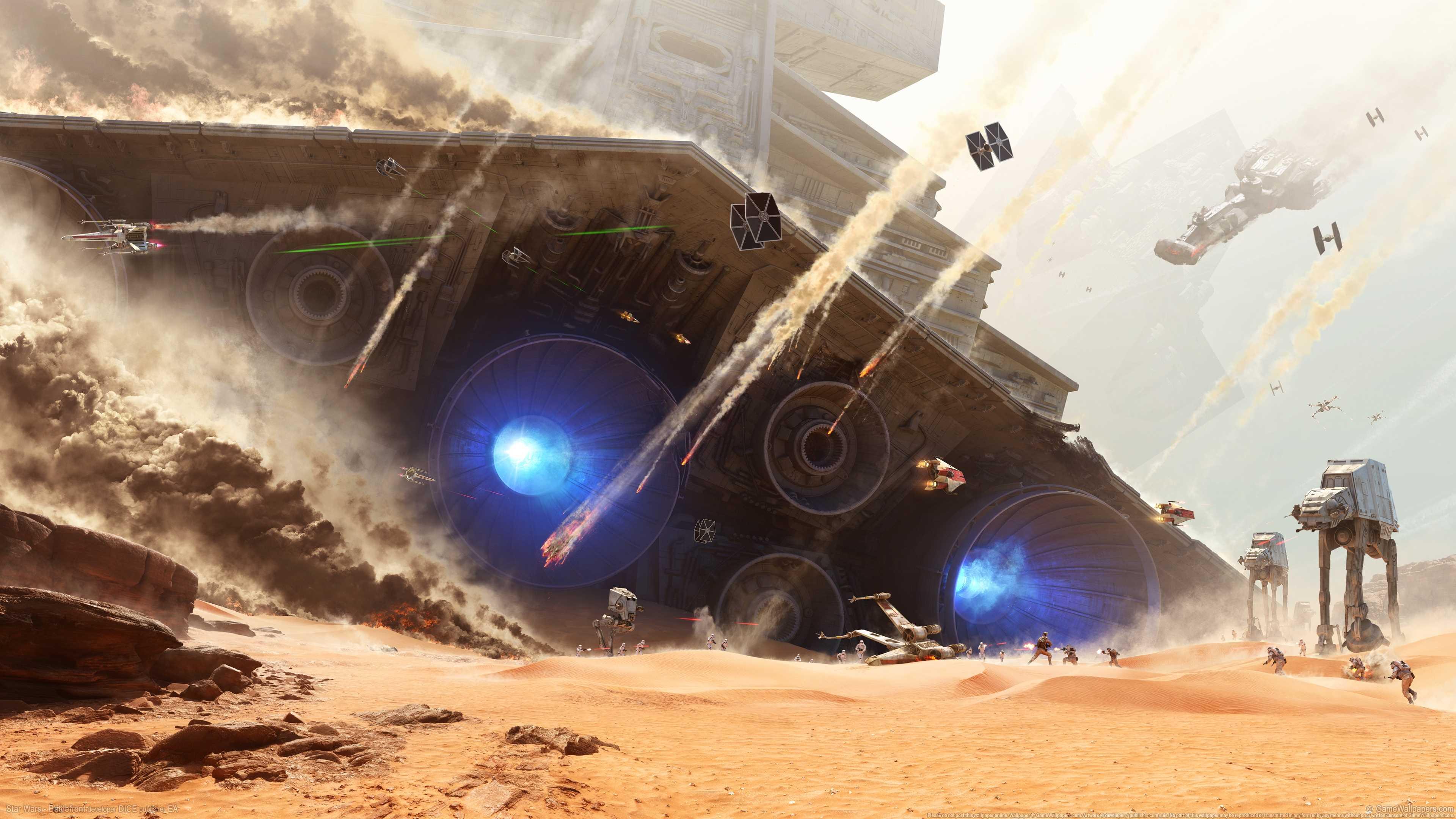 星球大战前线StarWars-Battlefront4k壁纸_彼岸图网