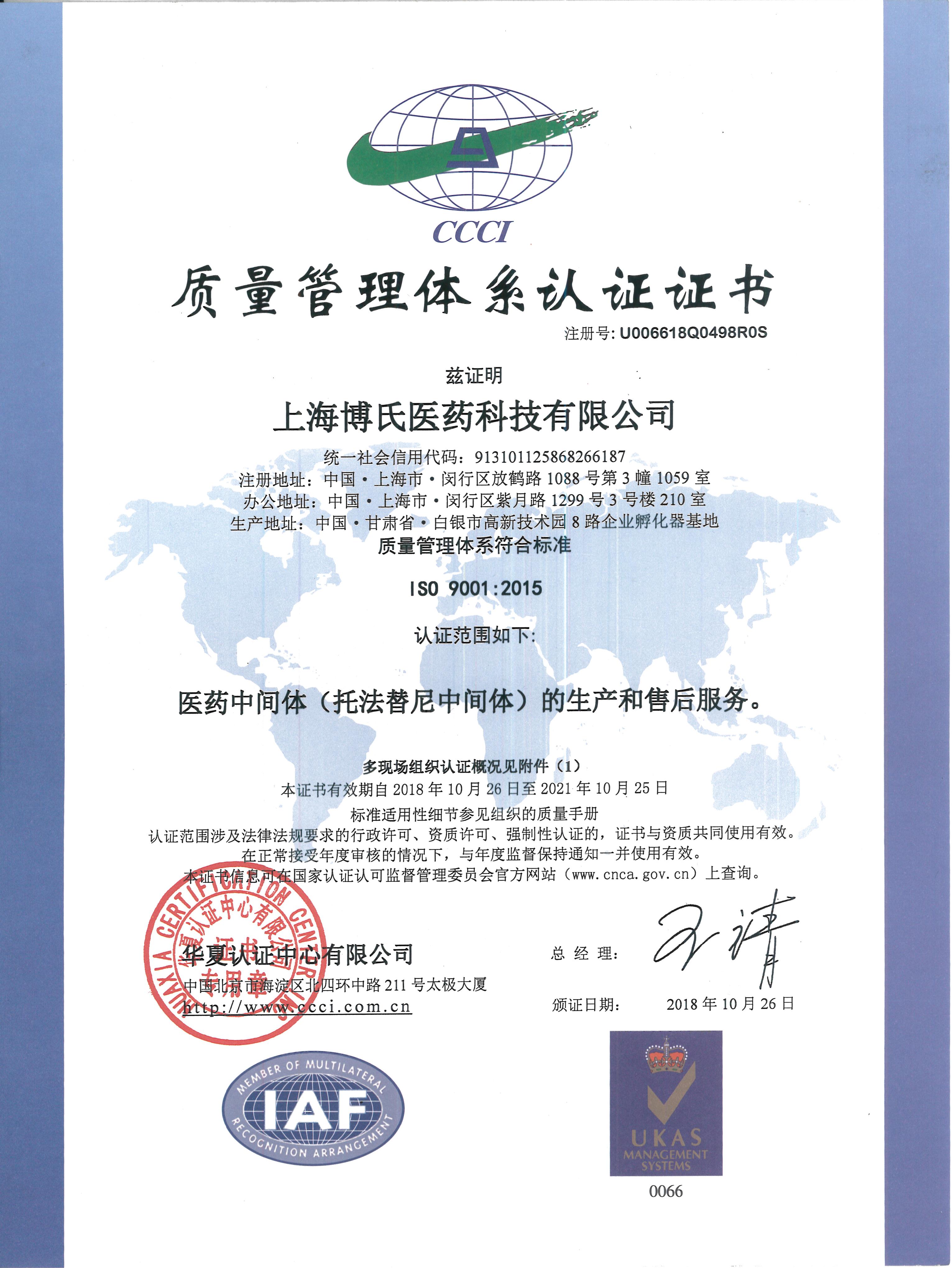 ISO9001-中文版-1