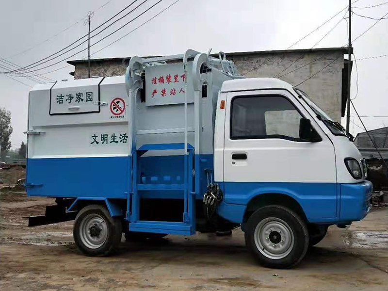 电动四轮垃圾车-4