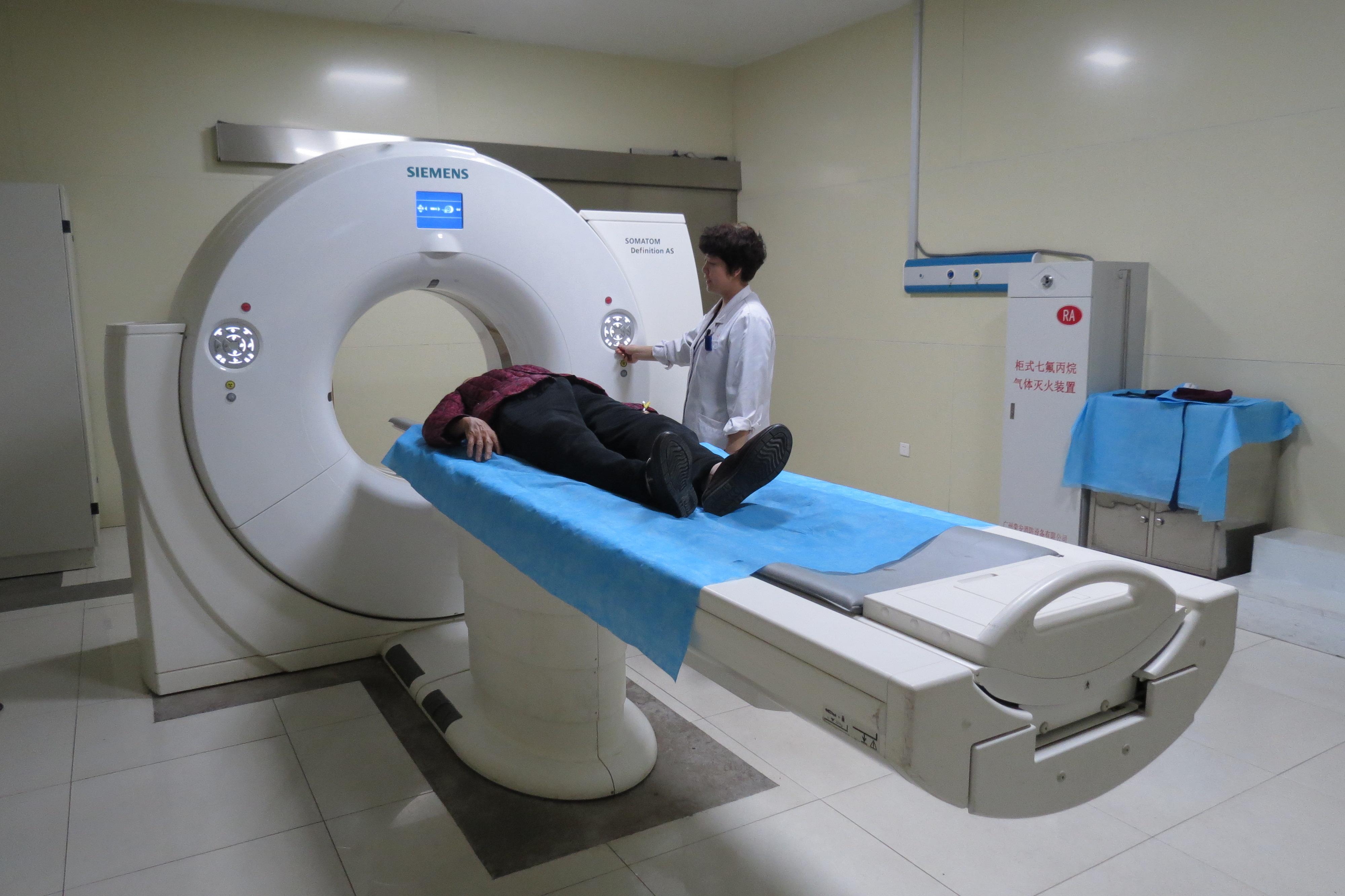 西門子64排128層螺旋CT-5