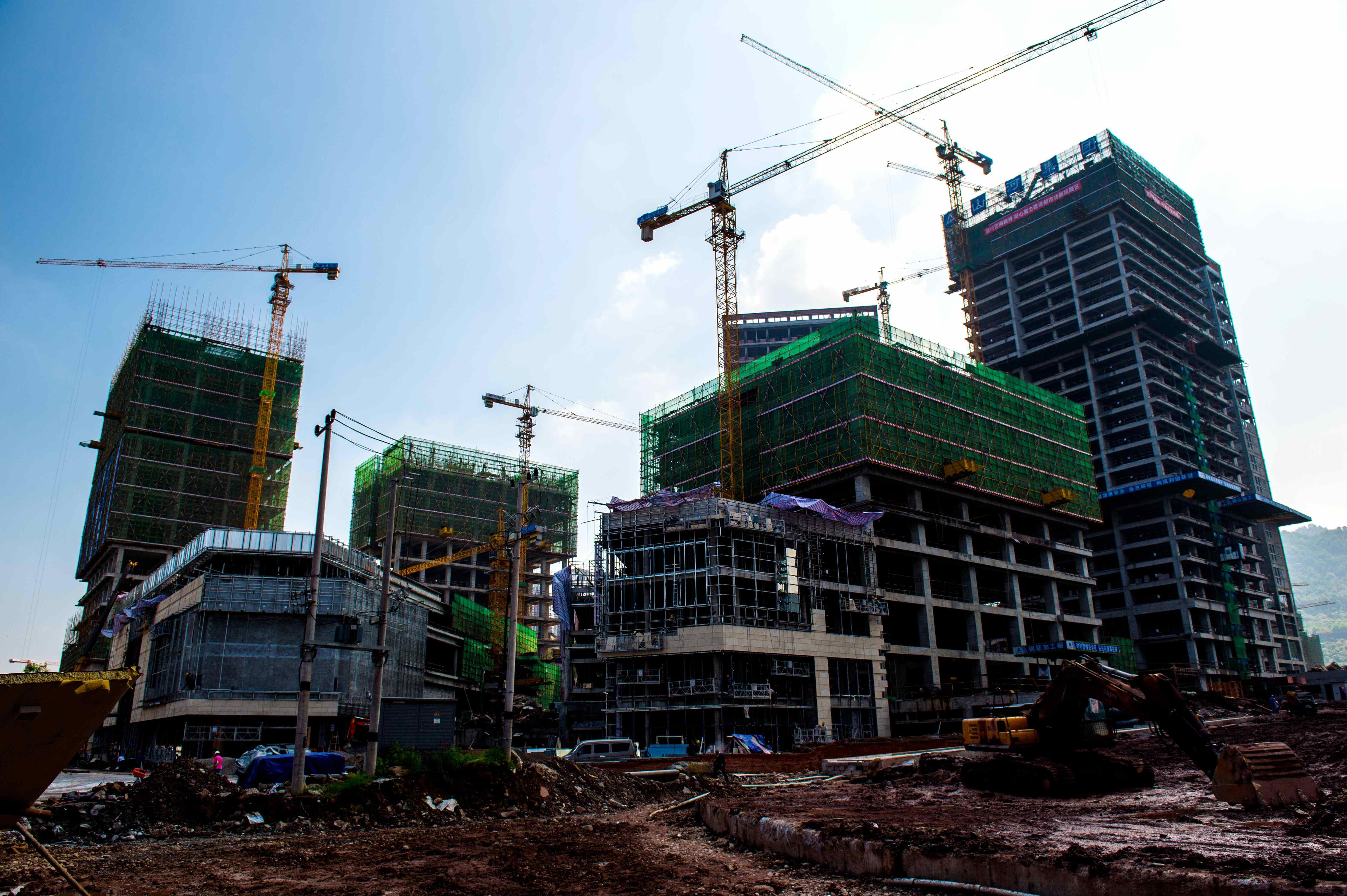 建設中的旭輝城