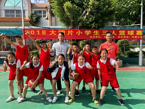 我校篮球队