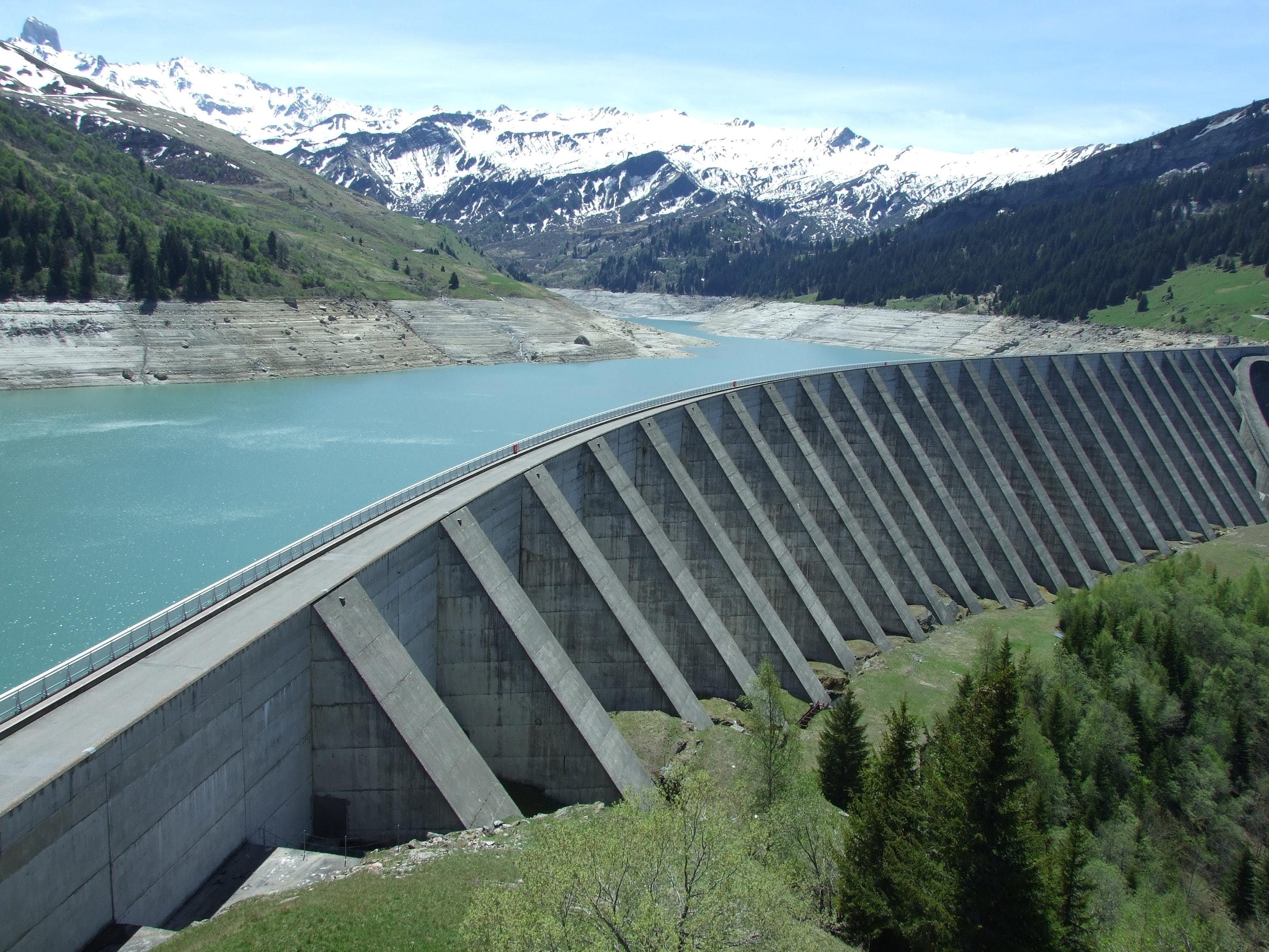 bridge-conifers-dam-574024