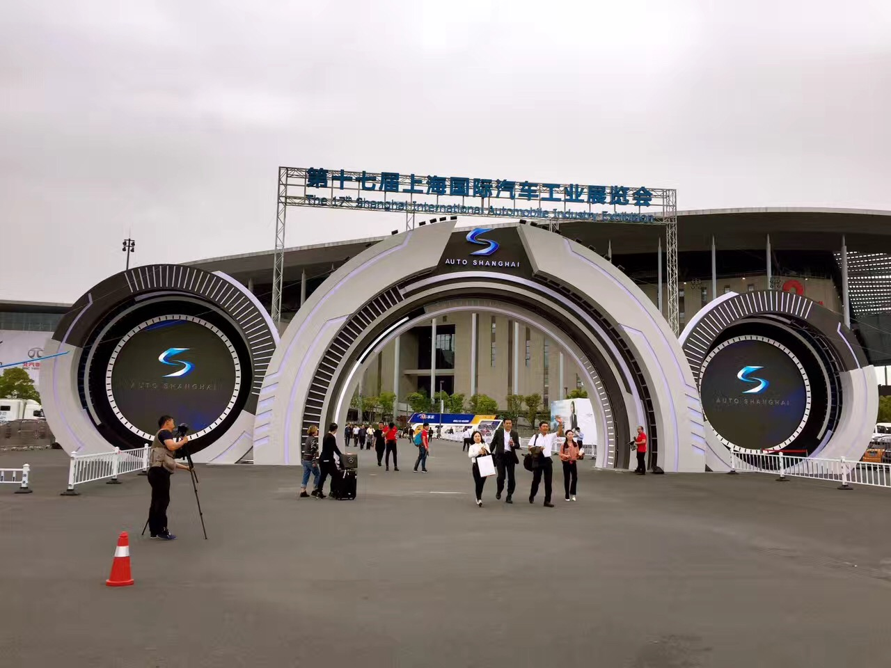 上海車展1