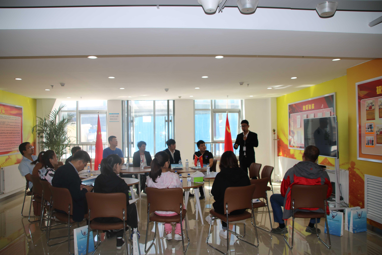 企业服务-一站式服务中心对基地科技企业进行知识产权培训