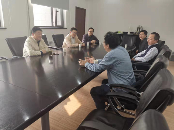 張黎勇赴北京開展招商引資活動