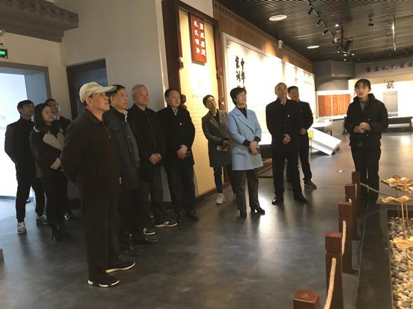 市委統戰部赴宣城家訓館開展主題黨日活動