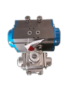 水電解制氫氣動閥門2