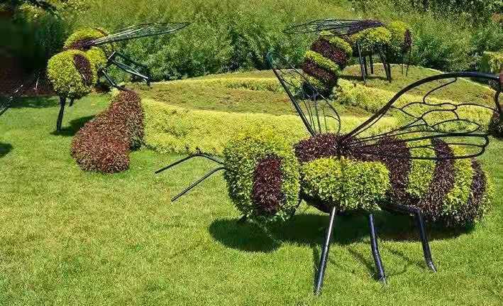 五色草造型-a67
