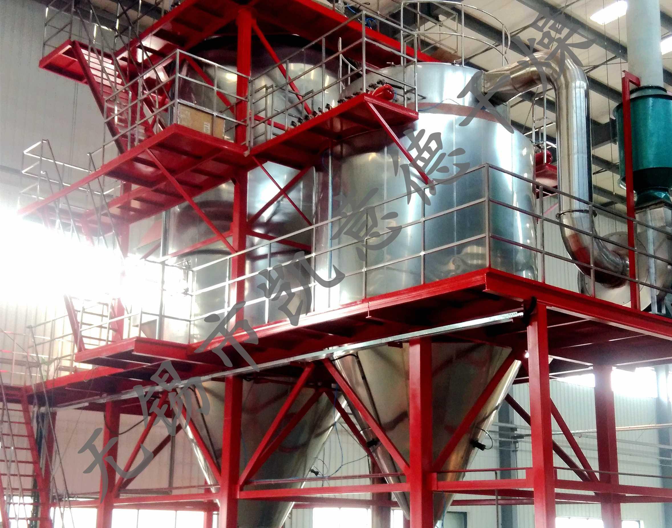 PPG系列平流喷雾造粒干燥机