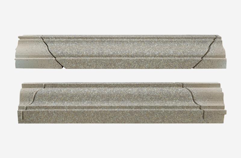 柱身裝飾線條