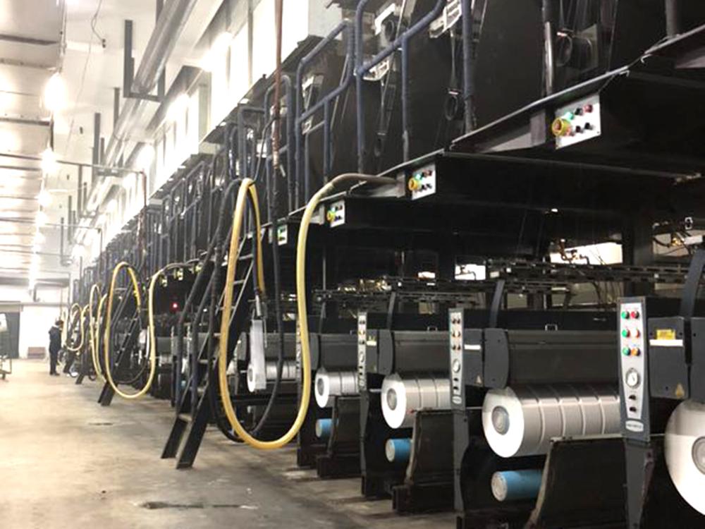 紡絲-POY生產線