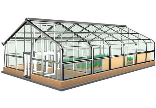 自然补光型气候室