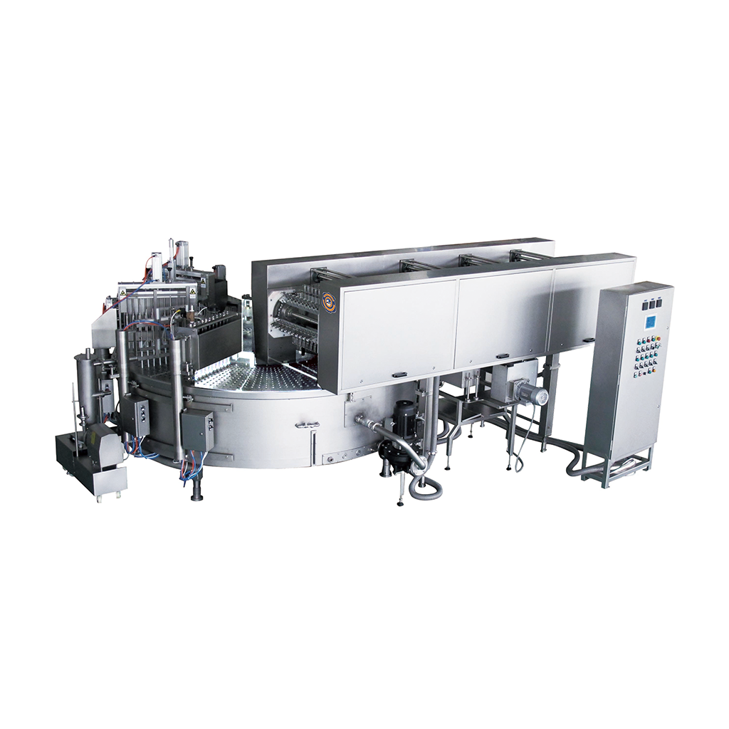 YP-12SServoRotaryIceCreamMachine
