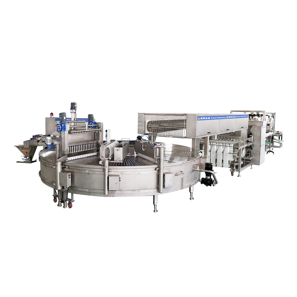 YP18-50ServoRotaryIceCreamMachine