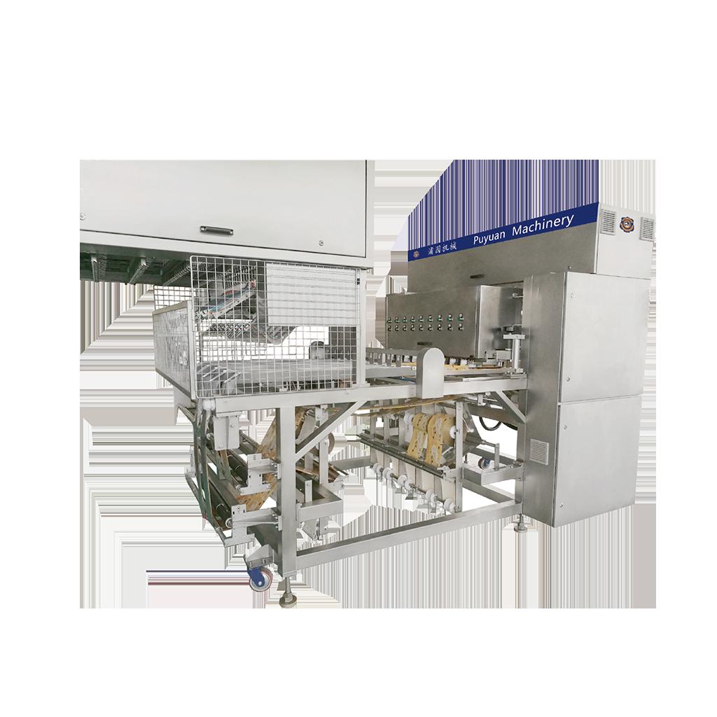 Multi-LineWrappingMachine