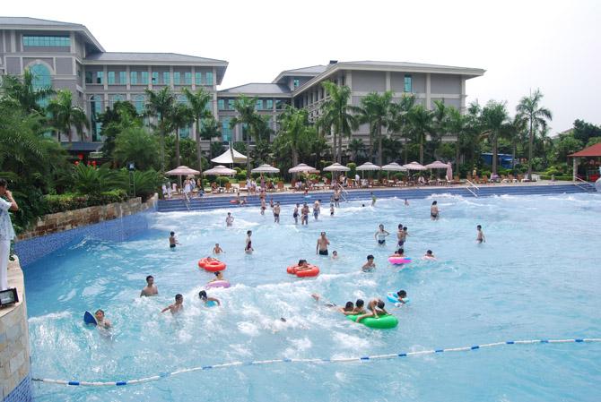 联溢雷火电竞亚洲水疗水景案例2