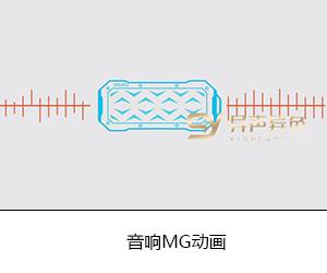 音響產品MG動畫