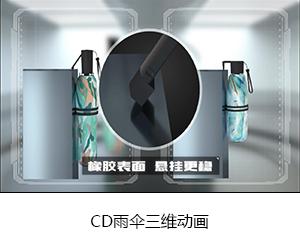 CD雨傘三維動畫