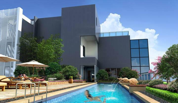 别墅泳池-4