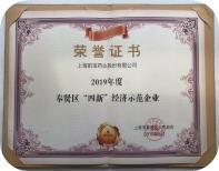 """奉賢區""""四新""""經濟示范企業"""