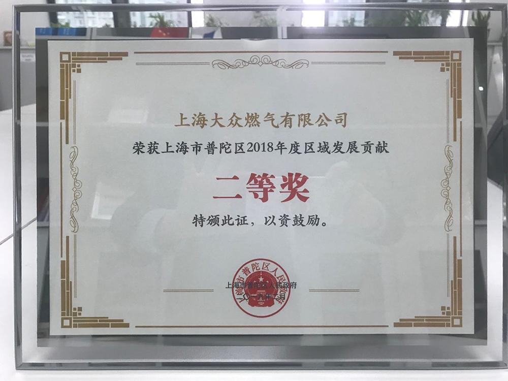 2019普陀区贡献奖照片