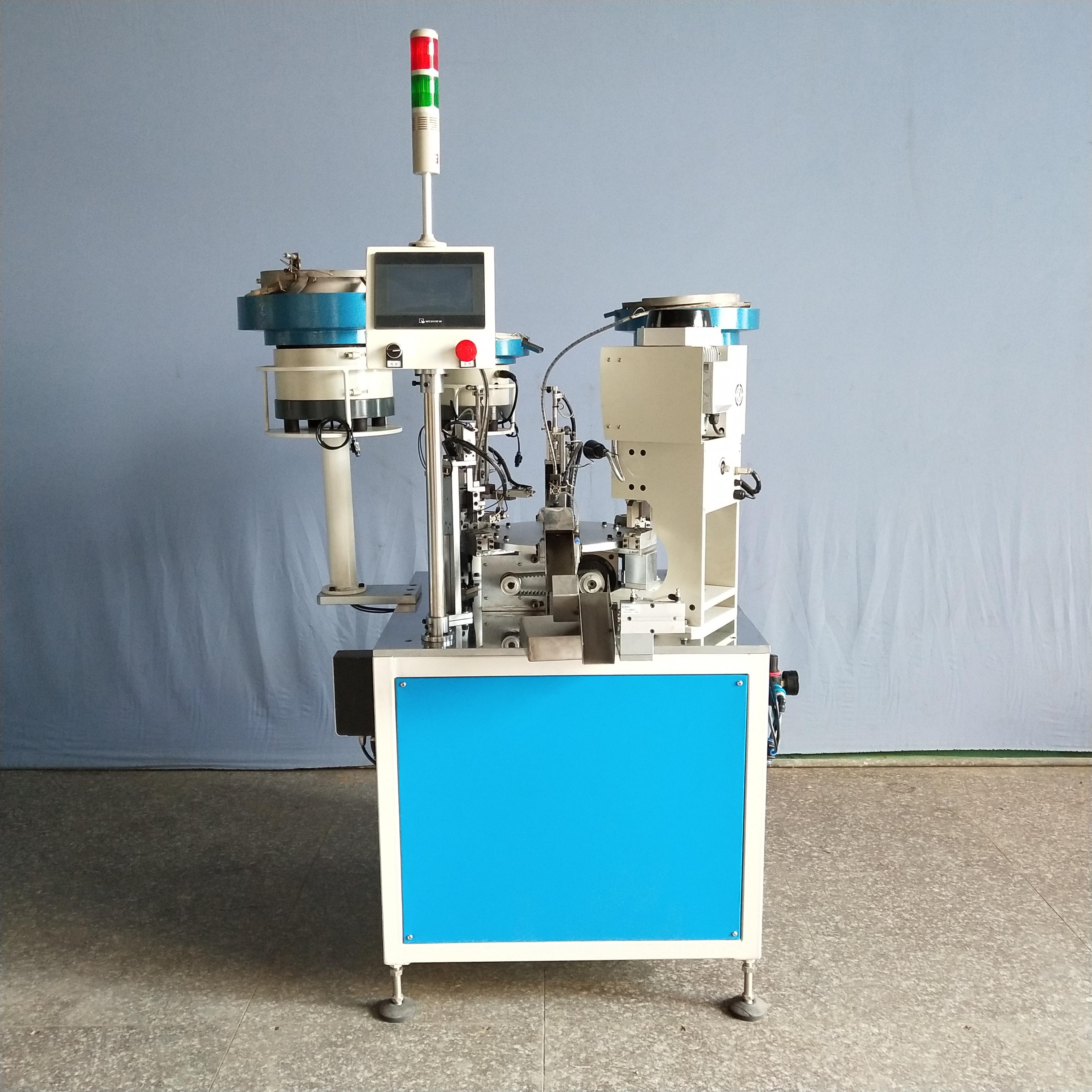绶冲器弹簧冲装配机2