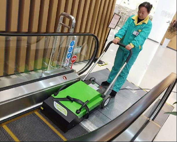 服務圖片-電梯保潔
