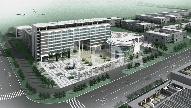 日照经济技术开发区孵化楼政府办公楼