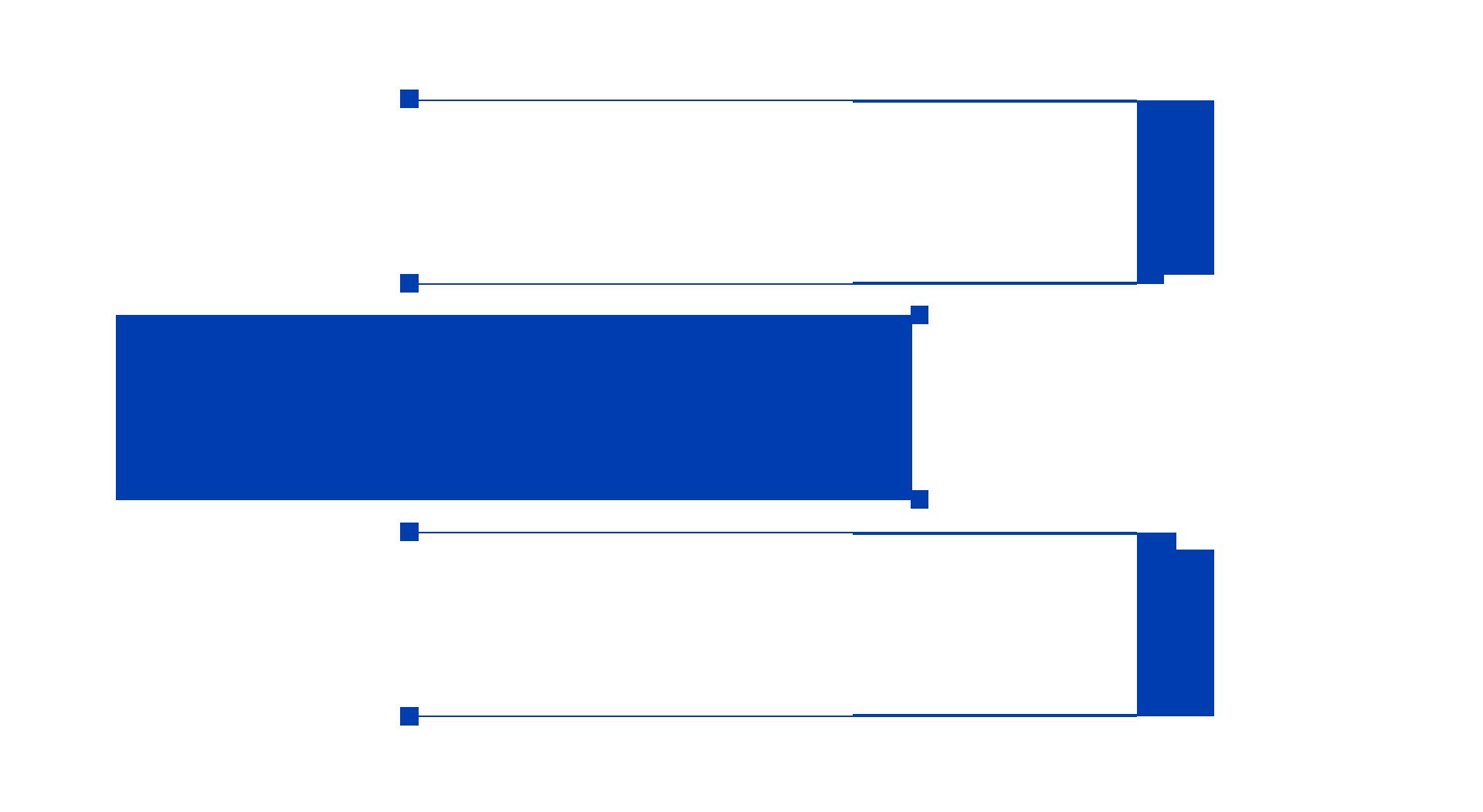 公司介紹藍色文字彎線條