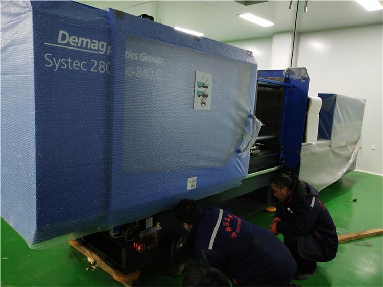滄州搬運設備施工現場