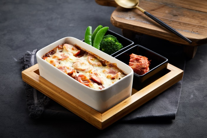 Baked rice with meat sauce 32929