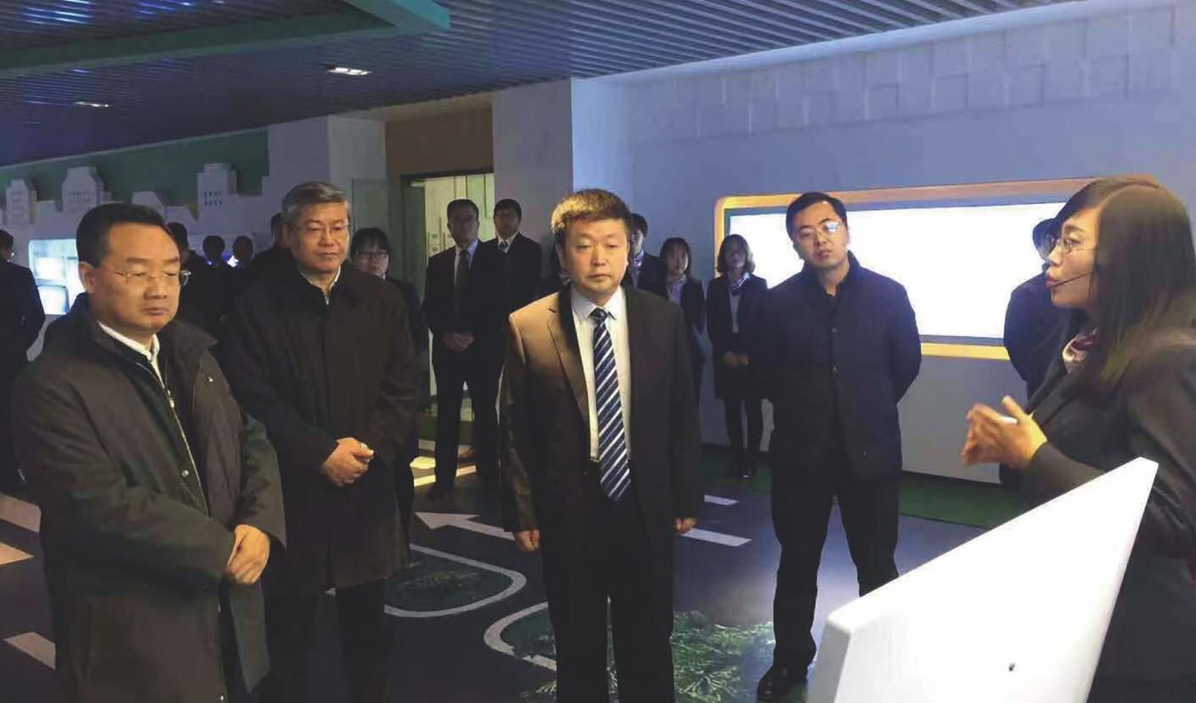 2018年11月16日,省委副書記、省長唐仁建來我公司調研