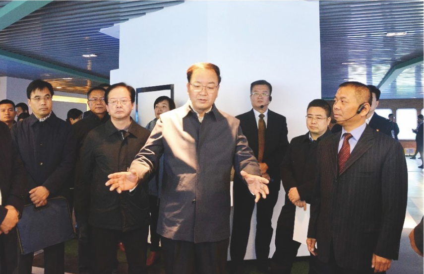 2018年11月30日,甘肅省政府副省長張世珍來我公司調研