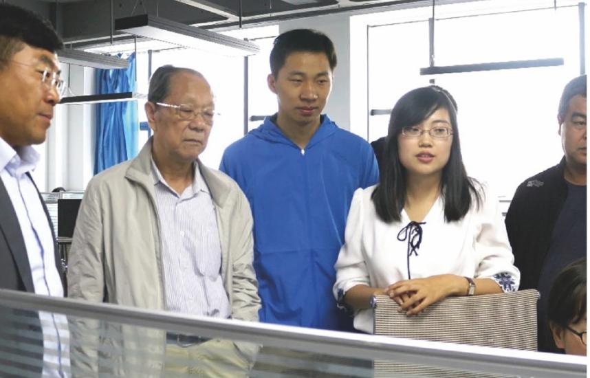 2018年9月14日,中國工程院院士王家耀來我公司調研