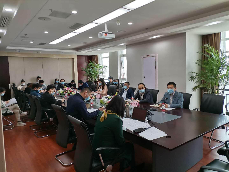 """金沙体育平台举办庆""""五四""""青年员工分享会"""