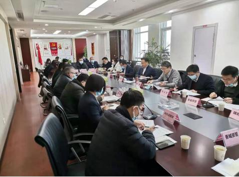 陳志祥到湖北省資產管理有限公司調研