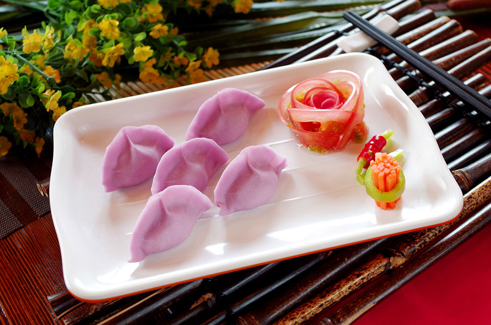 紫羅蘭水餃