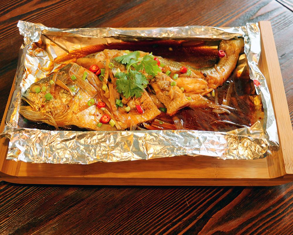 錫紙黃花魚