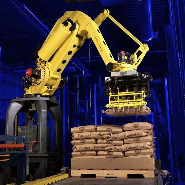 69010100機器人系列-機械手碼垛機